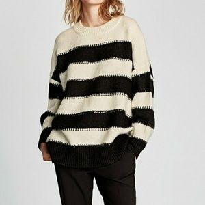 Size small zara sweater with sequin